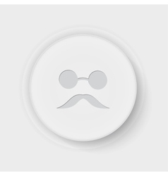 blind button vector image