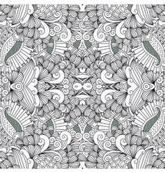 Full frame pattern background against white vector image vector image