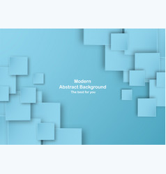 abstract blue background in square shape with vector image