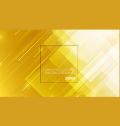abstract geometric shapes yellow background vector image