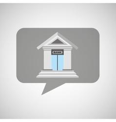 bank building design vector image vector image