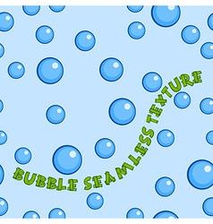 Blue Bubbles Pattern vector image