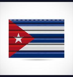 Cuba siding produce company icon vector