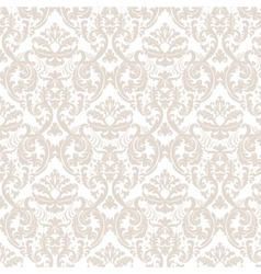 Elegant lily flower ornament multiple pattern vector