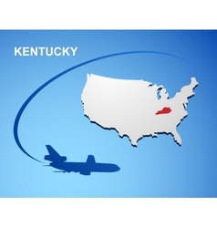 Kentucky vector image