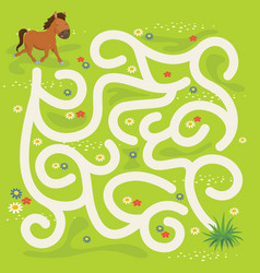 Maze labyrinth game vector