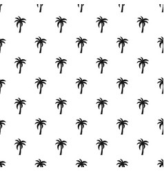 palm pattern vector image