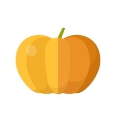 Pumpkin in Flat Style Design vector