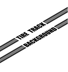 tire track perspective vector image