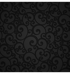 Floral Swirl Damask Seamless Pattern vector image vector image