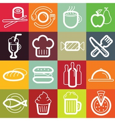 set of design elements and logo symbols vector image vector image