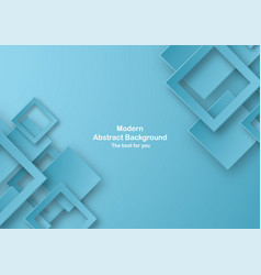 Abstract blue background with pastel color vector