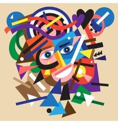 Abstract face vector