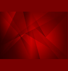 abstract geometric red color with copy space vector image