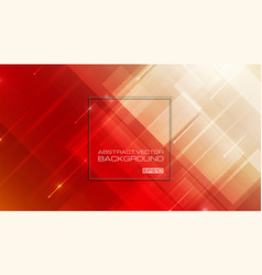 abstract geometric shapes on red background vector image