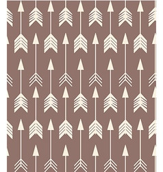 Bohemian arrows seamless pattern vector