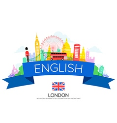 England london travel vector