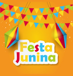 Festa junina background vector