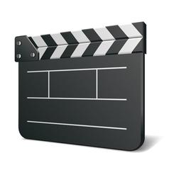 Film clap board vector