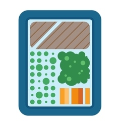 Food box vector image