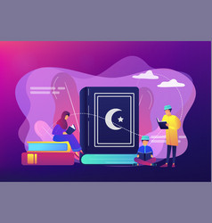 islam concept vector image