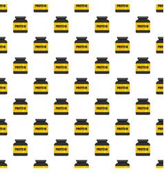 Kilogram protein pattern seamless vector