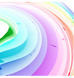 pastel abstract rainbow gradient mesh multi color vector image