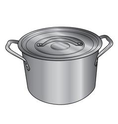 Pot vector image
