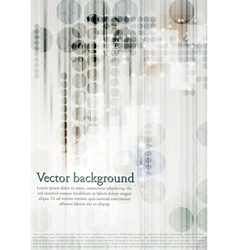 modern technical background vector image vector image