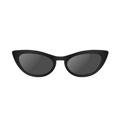 3d realistic sun glasses vector