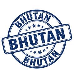 Bhutan stamp vector