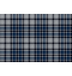 Blue plaid seamless fabric pattern vector