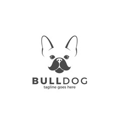 Bulldog logo vector