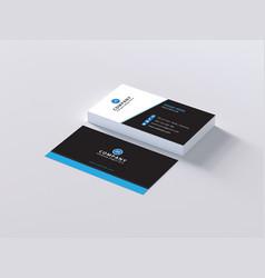 Business card 3 vector