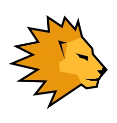 Creative lion vector