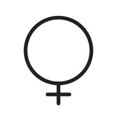 Female symbol vector