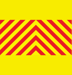 Red and yellow chevron background vector