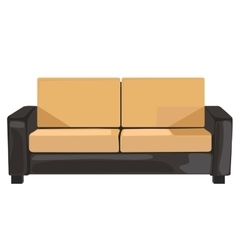 sofa in format vector image