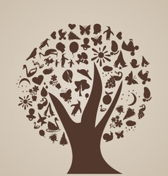 Tree of thoughts vector