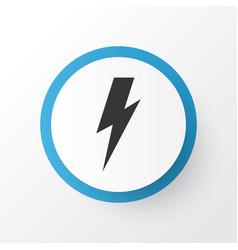 thunderstorm icon symbol premium quality isolated vector image