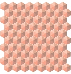 hexahendron seamless cells pattern vector image
