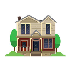 a hand drawn home sweet home vector image