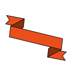 ribbon banner design icon vector image