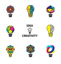 Idea color vector