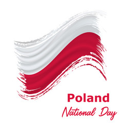 11 november poland independence day vector image