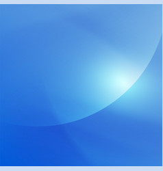abstract smooth blue flow background vector image