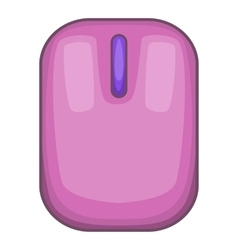 Computer mouse icon cartoon style vector image
