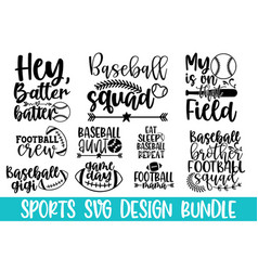 football calligraphy graphic design typography ele vector image
