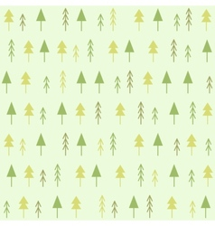 Geometric spruces seamless pattern vector