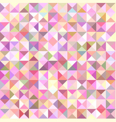 Geometrical abstract triangle tiled pattern vector